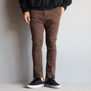 SALE 40%OFF  レミレリーフ パンツ REMI RELIEF ストレッチブーツカットカラーパンツ STRETCH BOOT CUT COLOR PT ブラウン BROWN 2020年秋冬新作|charger