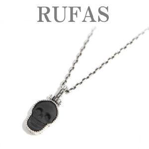 RUFAS/ルーファス ブラックオニキス スカルペンダントトップ セット ネックレス  メンズ レディース 通販|charger