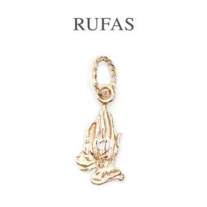 RUFAS ルーファス,ペンダント プレイングハンズ ペンダント K10ゴールド Praying Hands Pendant K10GOLD メンズ  レディース 正規取扱い 通販 |charger