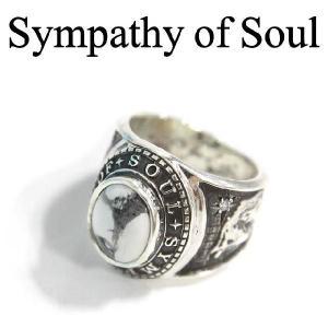 Sympathy of Soul /シンパシーオブソウル レオン Progress カレッジリング ハウライト シルバー 通販|charger