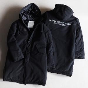 ロットワイラー コート ROTTWEILER モッズコート MODS COAT ブラック BLACK 2020秋冬新作|charger