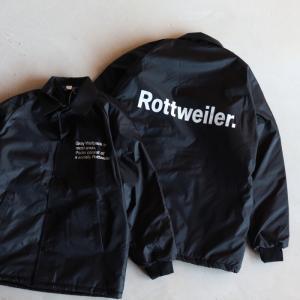 ロットワイラー ジャケット ROTTWEILER 中綿入りコーチジャケット Coaches Windbreaker ブラック BLACK 2020秋冬新作|charger