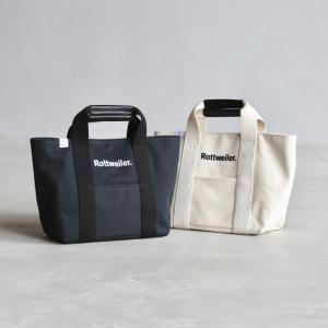 ロットワイラー バッグ ROTTWEILER R・W トートバッグ R・W Tote Bag ブラック/ホワイト 2色展開 2020秋冬新作|charger