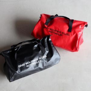 ロットワイラー バッグ ROTTWEILER キャリービッグバッグ Carry Big Bag ブラック/レッド 2色展開 2020秋冬新作|charger