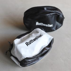 ロットワイラー ポーチ ROTTWEILER R・Wハンドポーチ R・W Hand Pouch ブラック/ホワイト 2色展開 2020秋冬新作|charger