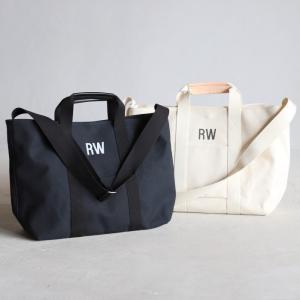 ロットワイラー バッグ ROTTWEILER キャンバストートバッグ (L) ラージ ブラック ホワイト Canvas Tote Bag Large BLACK WHITE 2色展開 2019秋冬新作 charger