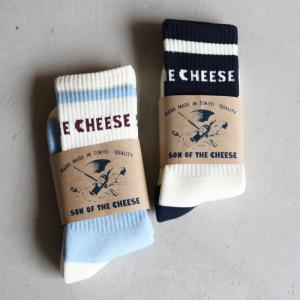 サノバチーズ 靴下 SON OF THE CHEESE プールソックス  POOLSOX  ターコイズ/ブルー 2色展開 (SC2110-AC04) (SC1420-AC05) charger