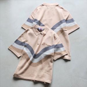 サノバチーズ  ポロシャツ SON OF THE CHEESE OPポロシャツ OP POLO ベージュ BEIGE 2021春夏新作 charger
