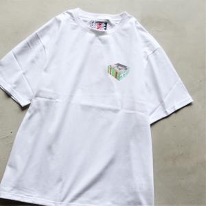 サノバチーズ  Tシャツ SON OF THE CHEESE キューブTシャツ CUBE TEE ホワイト WHITE 2021春夏新作 charger