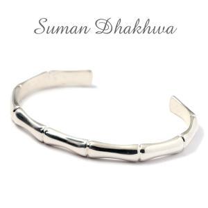 スーマンダックワ バングル Suman Dhakhwa シルバー バンブーカフ Silver Bamboo Cuff charger