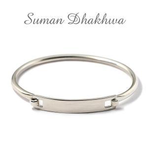 スーマンダックワ バングル Suman Dhakhwa シルバー ヒンジ バングル  Silver Hinge Banglle charger
