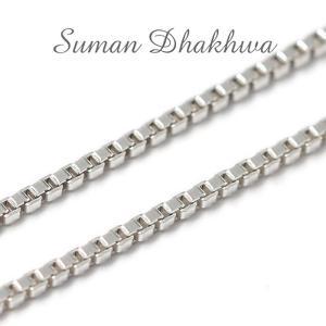 スーマンダックワ チェーン Suman Dhakhwa ベネチアン チェーン シルバー Venetian Chain Silver 50cm|charger