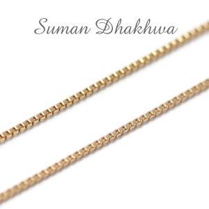スーマンダックワ チェーン Suman Dhakhwa ベネチアン チェーン K10イエローゴールド Venetian Chain K10YG 50cm|charger