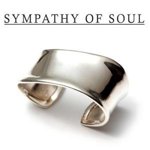 SYMPATHY OF SOUL Style レディース シンパシーオブソウル スタイル Melt Bangle SILVER メルト バングル シルバー|charger