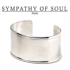 シンパシーオブソウル スタイル レディース SYMPATHY OF SOUL Style HMバングル シルバー  HM Bangle SILVER|charger