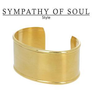 シンパシーオブソウル スタイル レディース SYMPATHY OF SOUL Style HMバングル ゴールドコーティング  HM Bangle - Gold Plated|charger