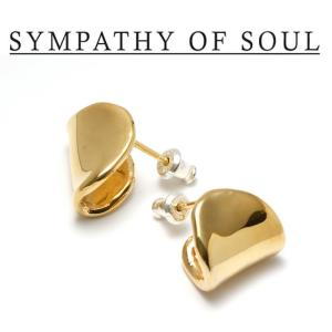 SYMPATHY OF SOUL Style レディース シンパシーオブソウル スタイル Melt Pierce BRASS GOLD メルト ピアス 真鍮 ゴールドコーティング|charger