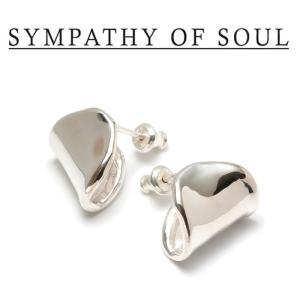 SYMPATHY OF SOUL Style レディース シンパシーオブソウル スタイル Melt Pierce SILVER メルト ピアス シルバー|charger
