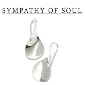 SYMPATHY OF SOUL Style レディース シンパシーオブソウル スタイル Loosery pierce SILVER ルーズリー ピアス シルバー|charger