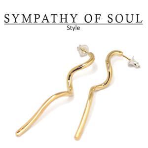 シンパシーオブソウル スタイル レディース SYMPATHY OF SOUL Style エディピアス ブラス ゴールドコーティング Eddy Pierce BRASS GOLD|charger