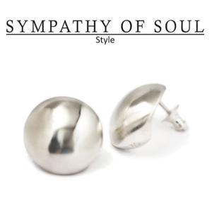 シンパシーオブソウル スタイル レディース SYMPATHY OF SOUL Style バルーンピアス シルバー Balloon Pierce SILVER|charger