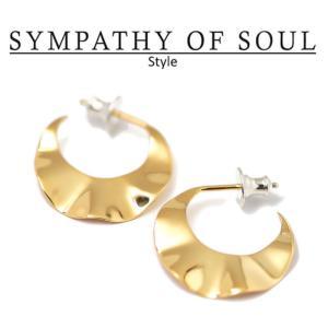 シンパシーオブソウル スタイル レディース SYMPATHY OF SOUL Style  スリーブピアス ブラス ゴールドコーティング Sleeve Pierce BRASS GOLD|charger