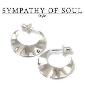 シンパシーオブソウル スタイル レディース SYMPATHY OF SOUL Style  スリーブピアス シルバー Sleeve Pierce SILVER|charger