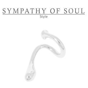 シンパシーオブソウル スタイル レディース SYMPATHY OF SOUL Style リキッドイヤーカフ シルバー Liquid Ear Cuff Small SILVER|charger