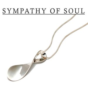 SYMPATHY OF SOUL Style レディース シンパシーオブソウル スタイル Loosery Necklace SILVER ルーズリー ネックレス シルバー|charger
