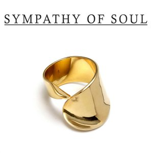 SYMPATHY OF SOUL Style レディース シンパシーオブソウル スタイル Loosely Ring BRASS GOLD ルーズリー リング 真鍮 ゴールドコーティング|charger