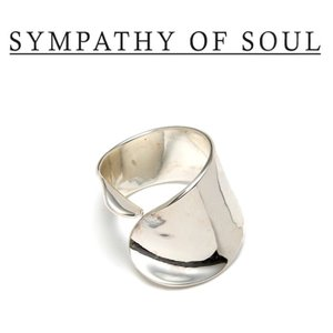 SYMPATHY OF SOUL Style レディース シンパシーオブソウル スタイル Loosely Ring SILVER ルーズリー リング シルバー|charger
