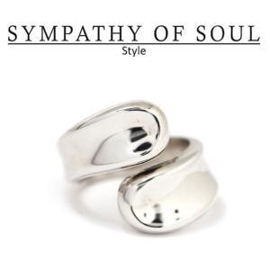 シンパシーオブソウル スタイル レディース SYMPATHY OF SOUL Style ワインディング リング シルバー Winding Ring SILVER charger