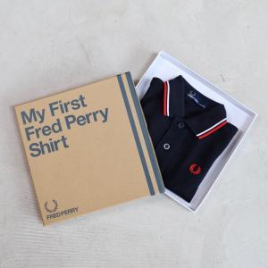 フレッドペリー キッズ FRED PERRY キッズ マイファースト ポロシャツ ネイビー Kids My First Fred Perry Shirt  NAVY 2019春夏新作|charger