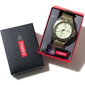 TIMEX タイメックス 時計 カレイドスコープ オリーブナイロン 42mm ミリタリー メンズ ダイバーズ|charger