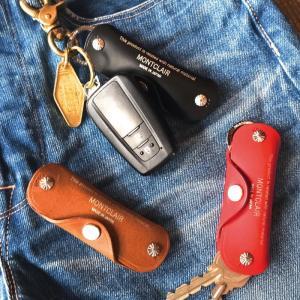 MONTCLAIR モントクレア Leather Key Case Standard Type レザー キーケース スタンダードタイプ 3色展開|charger