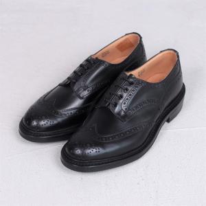 トリッカーズ  革靴 Tricker's ウィングチップ シューズ ブラック BOURTON TR5633 BLACK 2019秋冬新作|charger