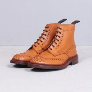 トリッカーズ  革靴 Tricker's ウィングチップ ブーツ エーコーン STOW TR5634 ACORN ANTIQU 2019秋冬新作|charger