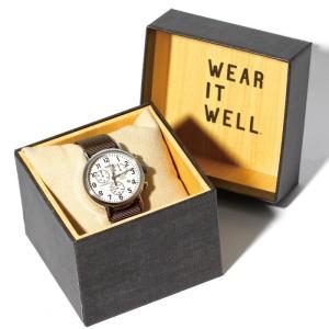 TIMEX タイメックス 時計 ウィークエンダー クロノ カーキ 40mm メンズ レディース|charger
