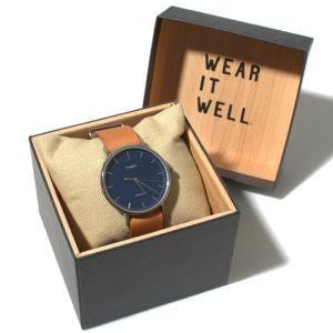 TIMEX タイメックス 時計 ウィークエンダー フェアフィールド レザーベルト 41mm タンレザー ネイビー メンズ|charger