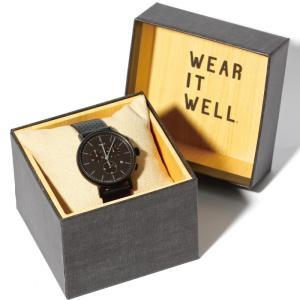 SALE 40%OFF TIMEX タイメックス 時計 ウィークエンダー フェアフィールド クロノ ブラック レザー 41mm メンズ|charger
