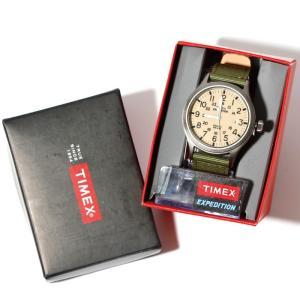 SALE 40%OFF TIMEX タイメックス 時計 スカウトメタル ナチュラル グリーン 40mm メンズ レディース|charger