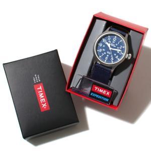 SALE 40%OFF TIMEX タイメックス 時計 スカウトメタル ネイビー タン 40mm メンズ レディース|charger