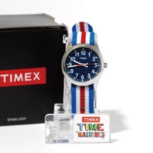 SALE 40%OFF TIMEX タイメックス 時計 タイムティーチャー ブルー 31mm キッズ レディース スモールサイズ|charger