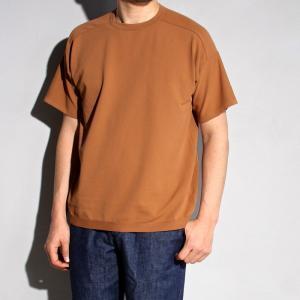 ラッピンノット Tシャツ WRAPINKNOT ニットTシャツ CAMEL キャメル 2019春夏新作|charger