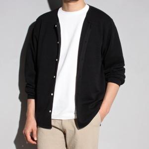 ラッピンノット カーディガン WRAPINKNOT ニットシャツ カーディガン BLACK ブラック 2019春夏新作|charger