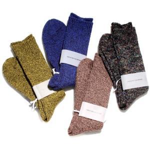 WYATT ワイアット 2017秋冬新作 靴下 MIX COLOR LIB LONG SOCKS ミックス カラー リブ ロング ソックス 4色展開|charger