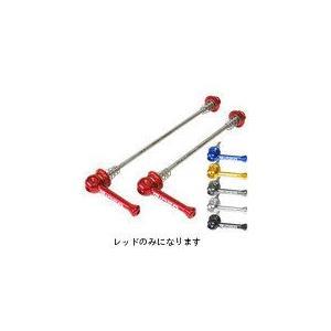 RIDEA HQR-2D_MTB_r HQR-2D Ti クイックリリース MTB レッド 147-03001 chari-o