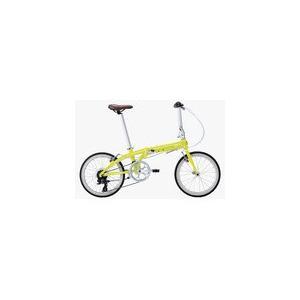 送料無料 Tern Link C8 (リンク C8) 20インチ 折り畳み自転車 カメレオンイエロー/ホワイト 2017年モデル 17-LinkC8/YW|chari-o