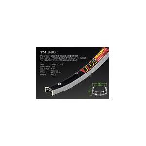 アラヤ 【TM-840F26F32B】TM-840F 26x1.50 リム CNC/ブラック 32H FV [71110001]|chari-o