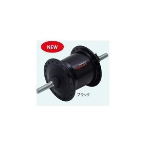 シマノ ADHC2100NDL DH-C2100 ハブ ダイナモ J2-A 6V-0.9W ナットタイプ ブラック 36H OLD:93mm ADHC2100NDL|chari-o